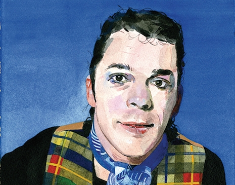 Ian Dury Self Portrait