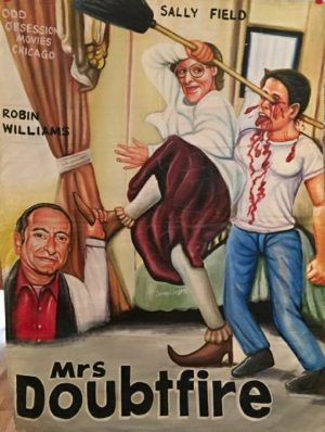 """African Movie Poster """"Mrs. Doubtfire"""""""